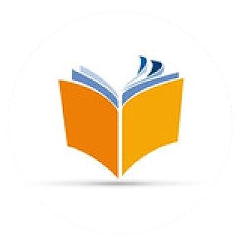 Tapis De Souris Vector Logo Livre Rond 20cm Amazon Fr