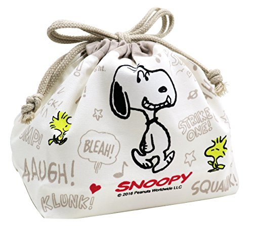 Snoopy Peanuts Club Bento Box Lunch Bag (Peanuts Lunch Box)
