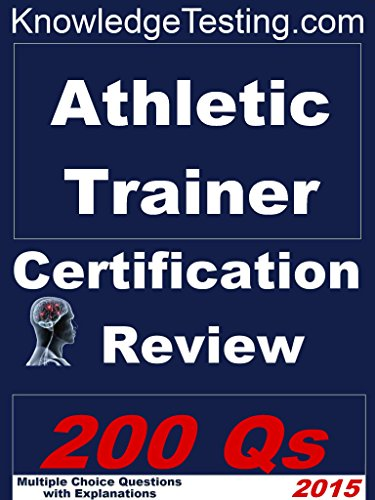 Amazon.com: Athletic Trainer Certification Review (Athletic Training ...