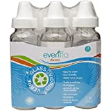 Evenflo 3 Pack Classic Glass Bottle, 8-Ounce