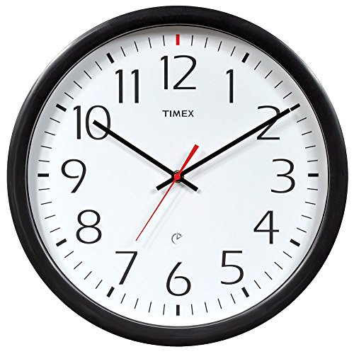 14 Inch Atomic Wall Clock (Timex 46004T Set and Forget Wall Clock, 14-Inch)