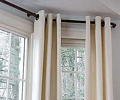 Versailles Bay Window Rod Set Home Kitchen