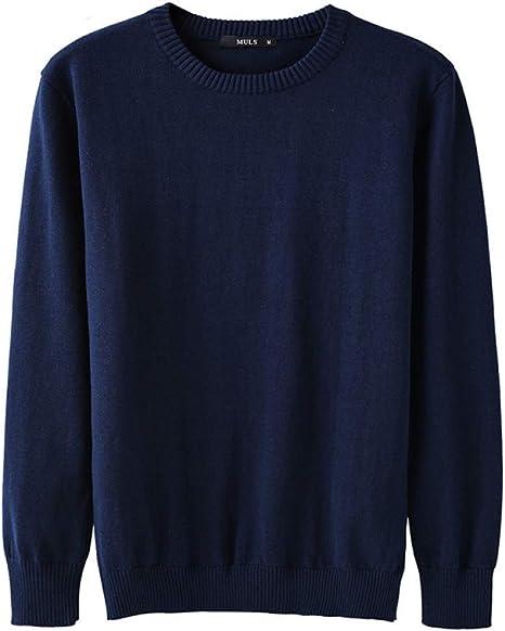 FEIDAO Hombr Jerseys Suéteres para Hombres Suéteres De Algodón O ...