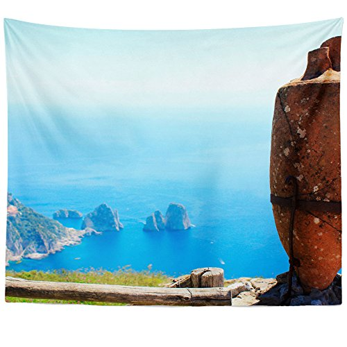 (Westlake Art - Photograpy Island - Wall Hanging Tapestry - Picture Photography Artwork Home Decor Living Room - 68x80 Inch (92B51))