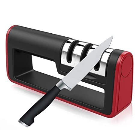 Afilador de cuchillos de cocina profesional para cuchillos ...