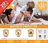 Waterproof Mattress Protector - Mattress Protector - 100% Waterproof Cotton Touch - Hypoallergenic (Queen)