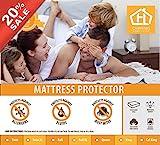 Waterproof Mattress Protector - Mattress Protector - 100% Waterproof Cotton Touch - Hypoallergenic (Queen)