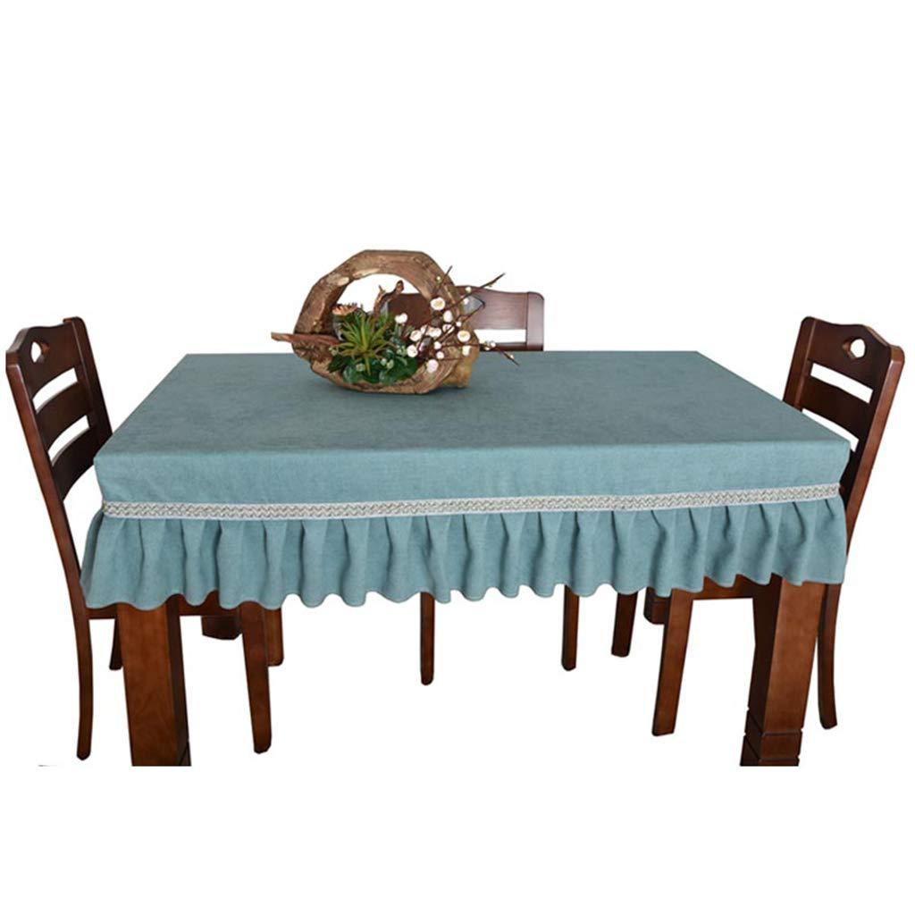 ラウンドテーブルクロス テーブルクロス - ソリッドカラーコーヒーテーブルテーブルクロス家庭用長方形防水テーブルクロス テーブルクロス (サイズ さいず : 70*130cm) 70*130cm  B07RXVY749