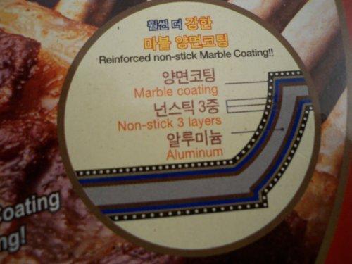Ceramic Marble Coated Cast Aluminium Non Stick Fry Pan 28cm(11 inches)
