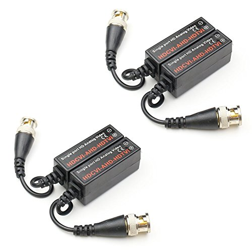 Twisted Pair Video Transceiver - ANHAN Video Balun Passive UTP Transmitter Twisted Pair Video transceiver 2 Pairs