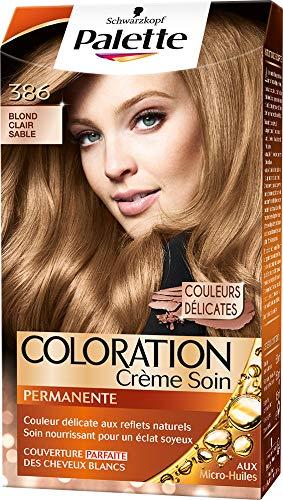 Schwarzkopf Palette Coloration Permanente Cheveux Blond Clair