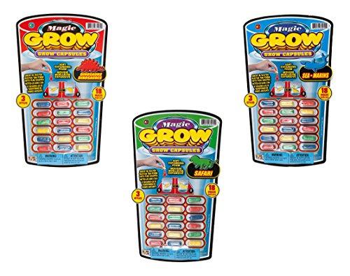 Ja-Ru Magic Grow,, 18 Capsules, 3-pack (54 Capsules