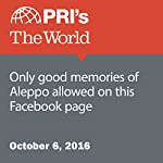 Only Good Memories of Aleppo Allowed on This Facebook Page | Leo Hornak