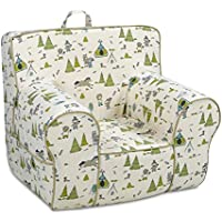 Kangaroo Trading Classic Grab-N-Go Chair Cowboy & Friends Felix Natural with Montana Buff Childrens