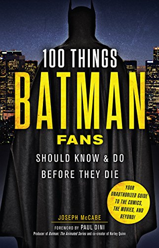 Amazon 100 things batman fans should know do before they die 100 things batman fans should know do before they die 100 things fandeluxe Choice Image