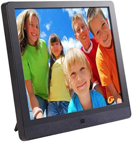 Pix-Star 10.4 Inch Wi-Fi Cloud Digital Photo Frame FotoConnect XD with Email, Online Providers, iPhone & Android app, DLNA and Motion Sensor (Black)