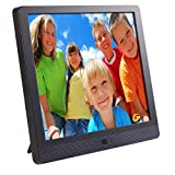 Pix-Star 10.4 Inch Wi-Fi Cloud Digital Photo Frame FotoConnect XD with Email - Online Providers - iPhone & Android app - DLNA and Motion Sensor (Black)