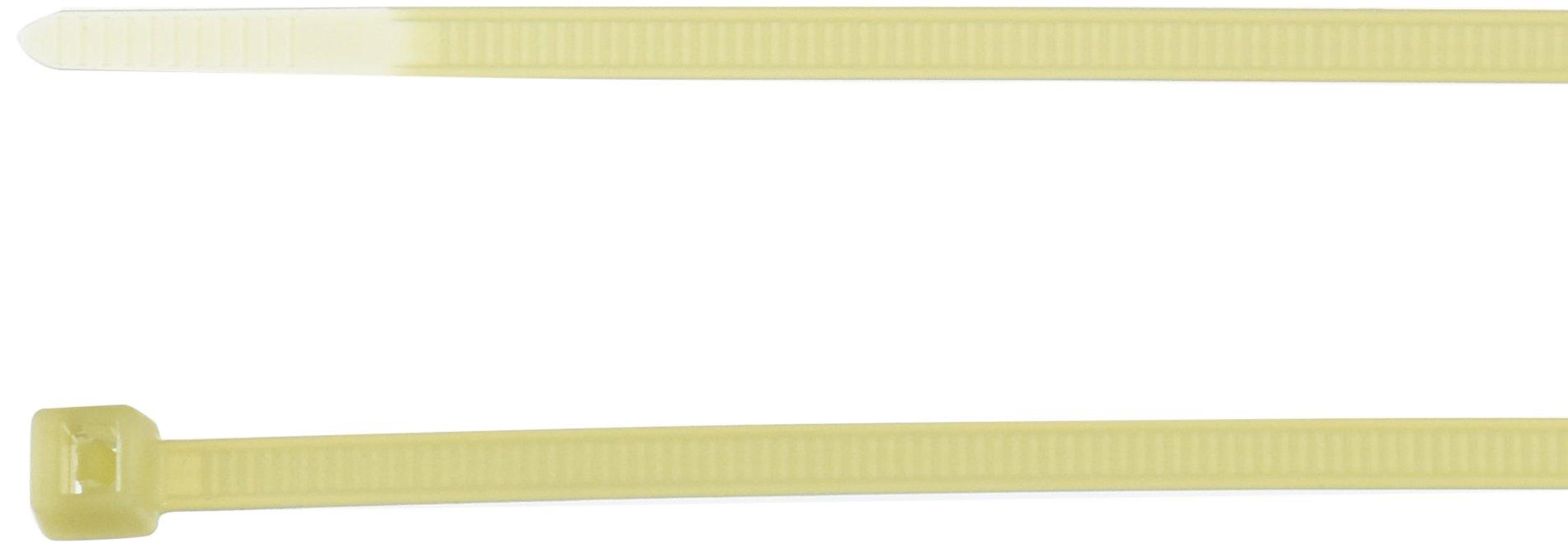 Hellermann Tyton 111-00815 High Temp Tie, 8'' Long, 50lb Tensile Strength, PA46, Natural (Pack of 100)