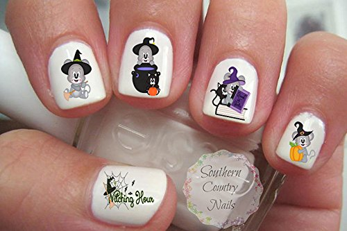 Halloween Mice Nail Art Decals ()