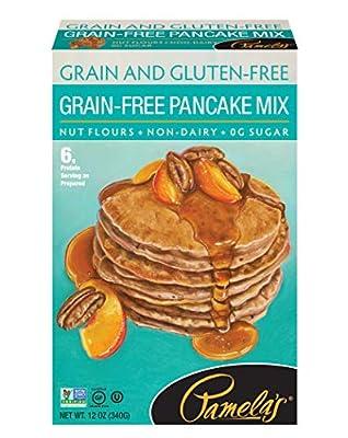 Pamela's Products Grain-Free Pancake Mix Gluten Free -- 12 oz - 2PC