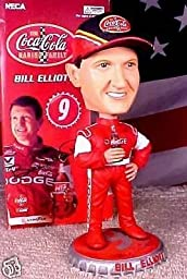 Nascar Bill Elliott Coca-cola Dodge New Bobble Head Knockers