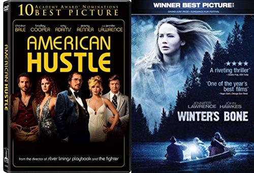Jennifer Lawrence 2-Movie Bundle - American Hustle & Winter's Bone Collection