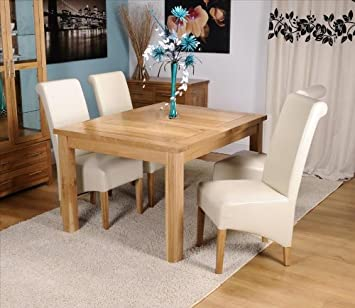 Exeter Solid Oak Dining Room Furniture Draw Leaf Extending Table