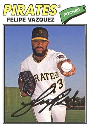 Amazoncom 2018 Topps Archives Baseball 196 Felipe Vazquez