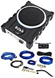 Boss Audio BASS1600 10'' 1600w Car/Truck Slim Under-Seat Active Subwoofer+Amp Kit