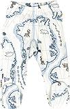 JOHA Baby Jungen Hose mit Fuss Strampelhose ARCTIC ZONE aus Merinowolle und Bambus in blau Größe...