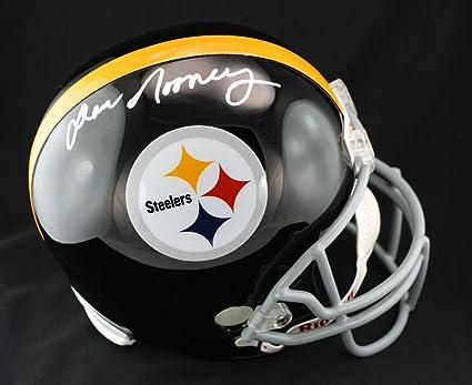 5b89d1301 Dan Rooney Autographed Signed Pittsburgh Steelers Full Size F/S Helmet  Memorabilia PSA/DNA