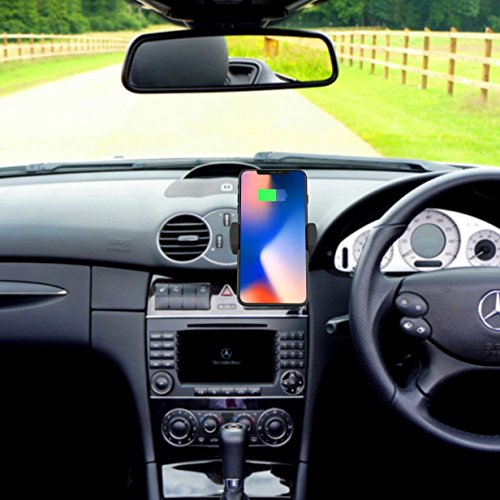 Lax Wireless Car Mount Charger Air Vent Phone Holder And