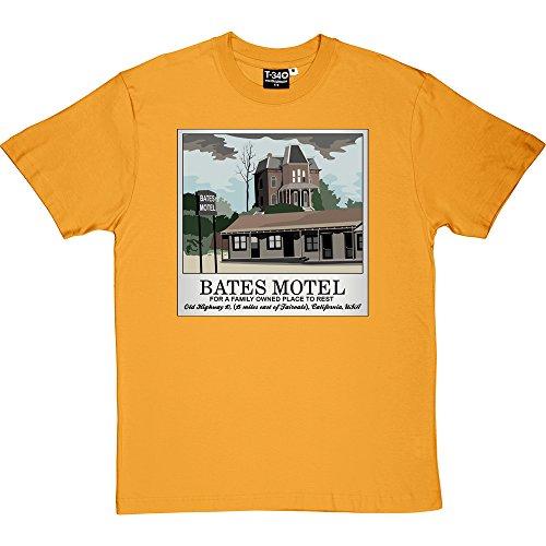 Bates Motel Yellow Men's T-Shirt XXL