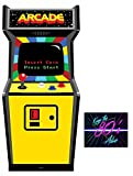Fan Pack - 1980s Colour Video Arcade Game Cardboard Cutout / Standee / Standup - Includes 8x10 Star Photo