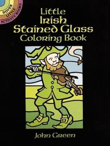 Little Irish Stained Glass Coloring