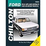 Chilton Ford Trucks and Bronco 1980-1996 Repair Manual (26664)