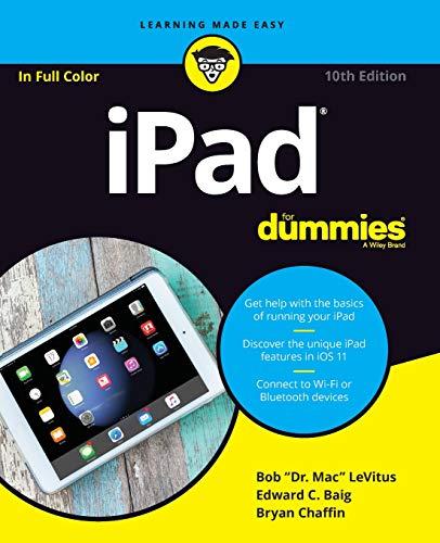 iPad For Dummies (For Dummies (Computer/Tech)) (Ipad Books)