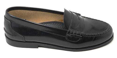 Zapato Castellano COLEGIAL O COMUNION Negro YOWAS 5081 (38)