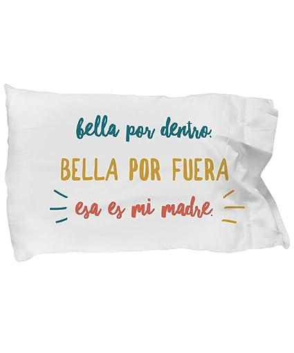Amazon.com: Funda de Cama Regalo para Mama Funda de almohada ...