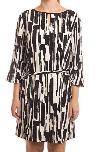 - Tahari by ASL Petite Retro Print Belted Shift Dress, Ivory, 8P
