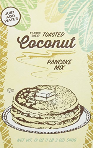 Mix Macaroon Coconut (Trader Joe's Toasted Coconut Pancake Mix 19oz)