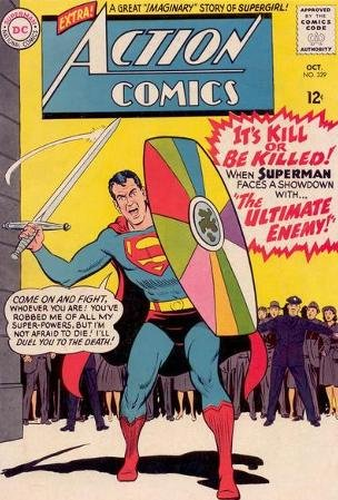Send Metal - Action Comics #329