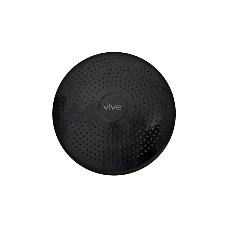 VIVE Wobble Cushion Inflatable Balance Disc Seat Fitness Core Stability Trainer Wiggle Pad for Office Chairs, Rehab, Exercise, Isokinetics, PT Kids Adult Workout Equipment with Hand Pump