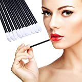 100pcs Disposable Lip Gloss Applicators Lipstick Wands Tool Kits (100pcs)
