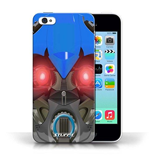 Etui / Coque pour Apple iPhone 5C / Bumble-Bot Bleu conception / Collection de Robots