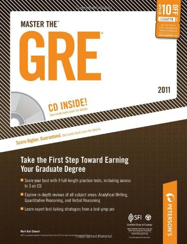 Peterson's Master the GRE 2011