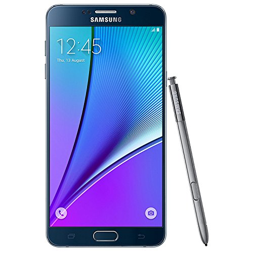 Samsung N920C Factory Unlocked GSM Galaxy Note 5, 32GB - International Version (Black)