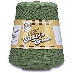Lily Ball of Cotton Yarn, Sage
