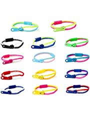 Friendship Zipper Bracelets 7.5in Friendship Fidget Bracelets Sensory Bulk Set