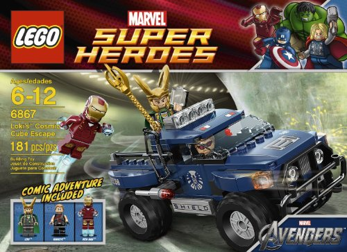 LEGO Loki's Cosmic Cube Escape 6867(MFG Age: 6 - 12 years) - Lokis Cosmic Cube